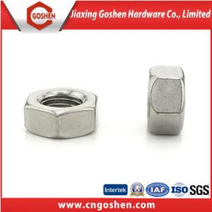 Acier inoxydable / Boulon hexagonal en acier au carbone et l'écrou