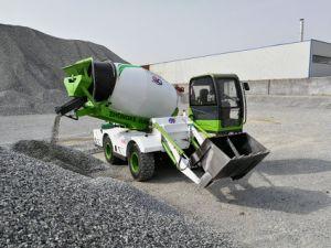 Camión Mezclador de tambor rotativo auto móvil de carga de camiones hormigonera