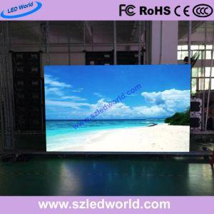 Location d'intérieur/extérieur pleine couleur panneau LED affichage publicitaire (P6.25, P3.91, P4.81, P5.95)