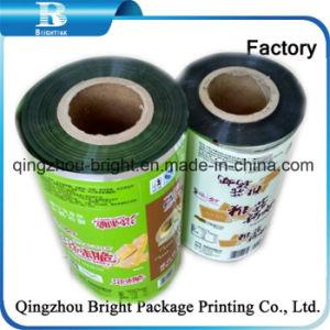 El papel de aluminio laminado de plástico para el envasado de bolsas de palos de café