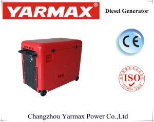 Un cilindro de tipo silencioso generador diesel refrigerado por aire