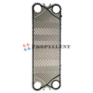 Permutador de calor da placa de partes separadas AISI304, AISI316L, placas de titânio para Gea