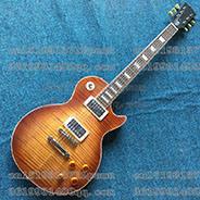 Le chitarre standard di alta qualità dell'ente solido del coperchio della banda della tigre di Les Paul Brown della chitarra elettrica della Cina Lp liberano il trasporto