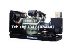 Il gruppo elettrogeno del motore diesel di Doosan Di146 64kw 80kVA apre il tipo prezzo poco costoso elettrico di Genset