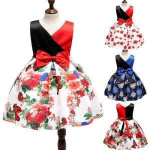 Boutique Enfants Filles Floral partie prom robes pour les mariages d'Anniversaire Concert Printemps Eté