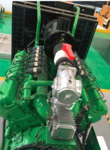 산업 발전기 가구 그리고 동물 배설물을%s 표준 회의 Biogas 발전소 250kw Biogas 엔진 발전기