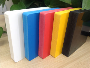Découpe de haute densité de la mousse PVC Conseil/ PVC mousse Feuille de carte pour la publicité
