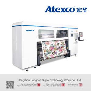 Modelo Atexco X Digital sublimación impresora textil con 8 cabezales de impresión de Kyocera
