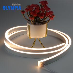 Venta caliente tamaño ultra delgada franja de neón de LED de 24V.