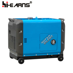 Новая модель 6.5kw Silent тип дизельный генератор для домашнего использования (DG8500SE-N)