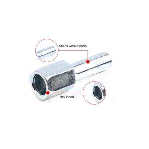 Plat en métal personnalisée/Rivet Push à tête ronde