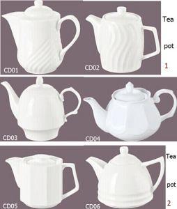 Фарфор чайник для отелей и ресторанов (CD01-06)
