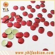Корейский качество красный цвет Hotfix Nailhead металлические шпильки