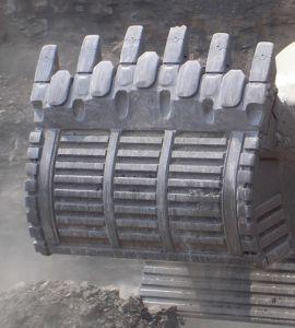 掘削機およびグレーダーのための炭化物の摩耗の部品