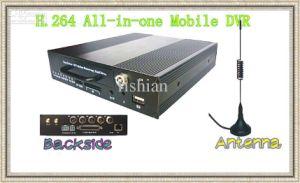 H., 264 drahtloses Mobile DVR mit 4CH Handels Eingang und 1CH ausgegeben (DVR-SD404)