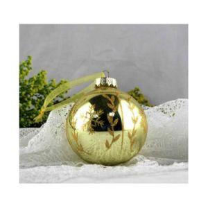 Популярные Стеклянный шарик Рождество украшение для продажи