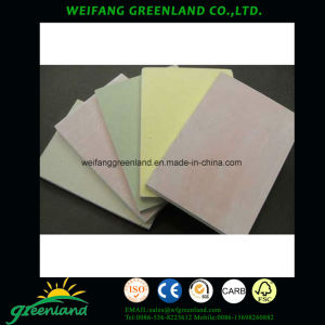 Placa de gesso impermeável/placa de gesso resistente Moisure/Standard de gesso