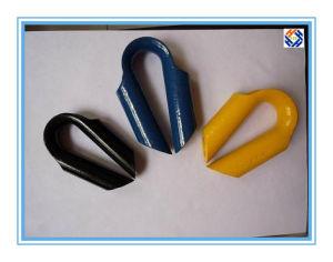 ロープの指ぬきのためのワイヤーロープクリップ