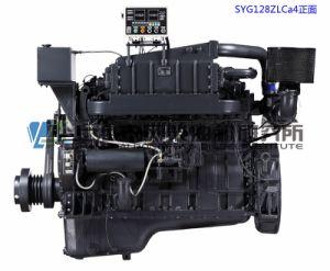 254.8kw/1800rpm、Marine G128、Generator Setのための上海Dongfeng Diesel Engine