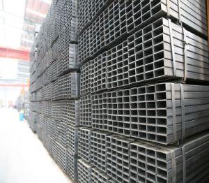 Tubo d'acciaio della sezione vuota galvanizzata Shs del tubo di rettangolo del tubo di precisione 40X60/tubo rettangolari e quadrati