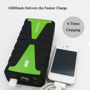Piezas de motocicleta multifunción Banco de potencia con batería recargable