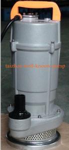 QDXのタイプ(アルミニウム貝)単一フェーズの浸水許容の電気水ポンプ(QDX25-7-0.75)