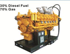Generators van de Brandstof van Honny de Dubbele met de Diesel van 30%, het Gas van de Aard van 70%