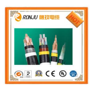 Алюминиевые провода с изоляцией из ПВХ Оболочки подземных 0.6/1кв электрические провода