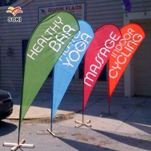 Feather Supermercado Falg Promocionais Cores Banner com Base e Tubo