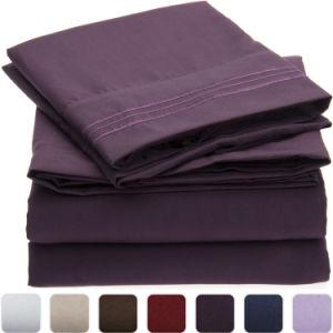Saling熱い機械洗濯できる100%年の綿の羽毛布団カバーセット