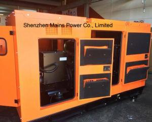 100Ква Cummins Silent каюта генератор дизельного генератора рейтинга в режиме ожидания