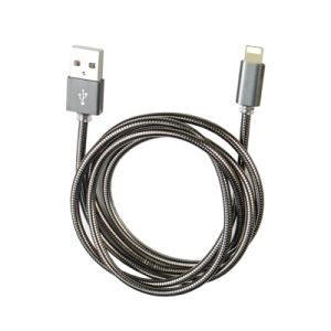 Cavo di carico del USB del metallo in lega di zinco durevole e dure di vendite superiori per il iPhone