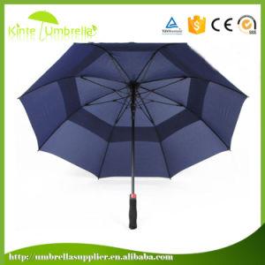 30インチの二重層の防風の自動開いたゴルフ傘
