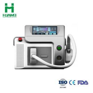 Novo sistema portátil 808nm Máquina de remoção de pêlos a laser de diodo