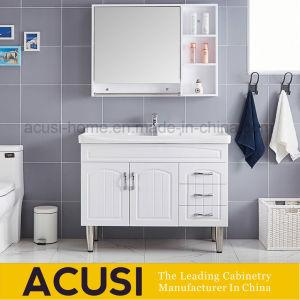 Governi di stanza da bagno di legno di vendita caldi di colore bianco moderno di stile (ACS1-W61)