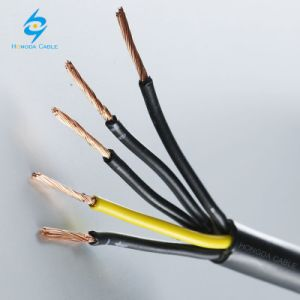 Une 60228 de Ontharde Elektrolytische Flexibele vv-k Kabel van het Koper 0, 6/1kv
