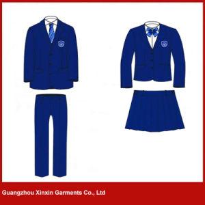 広州の工場はカスタム設計する高品質の学校の衣服(U3)を