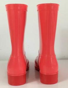 De nieuwe Laars van de Regen van pvc van de Vrouwen van de Manier, de Laarzen van de Regen van Dames, de Populaire Laars van de Regen van de Stijl, de Laarzen van de Regen van de Vrouw, Dame Rain Boot