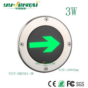 3W LED Tiefbauanzeigelampe