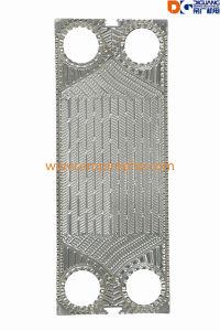 ガスの圧縮のための版の熱交換器