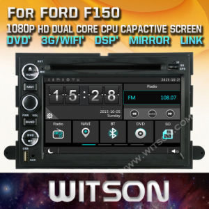 Tela de Toque do Windows Witson aluguer de DVD para a Ford F150