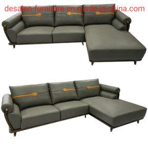 2019 Nova chegada Ciff moderno mobiliário sofá de couro (B10)