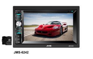 Speler van de Auto DVD van het Scherm de Dubbele DIN van de aanraking met Aux (jms-6242)