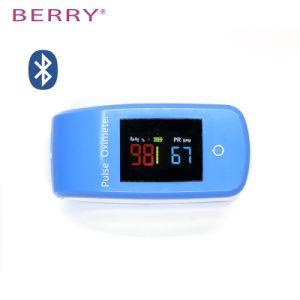 O oxímetro de pulso da ponta do dedo Blooed Monitor de Oxigenio