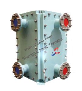 石油化学製品の高圧クーラーの十分に溶接された版の熱交換器