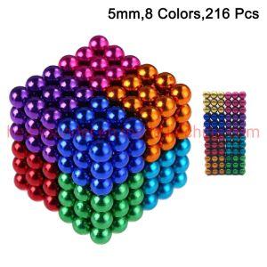 Multicolor boule Boule magnétique footballène aimant