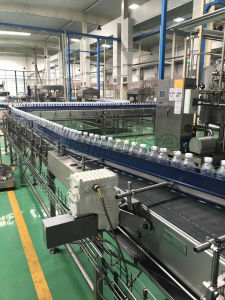 POM ce/PP plástico modular o transportador de correia para a indústria alimentar