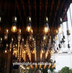 LEIDENE Energy-Saving van de Bol Licht van de Kaars van de Lamp van de Gloeidraad van de Kroonluchters van het Hotel het Decoratieve