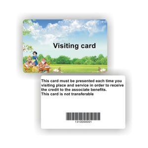 플라스틱 PVC Barcode 카드