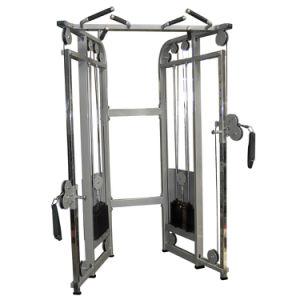 La doble polea ajustable, entrenador de gimnasia funcional, máquina de la fuerza de martillo